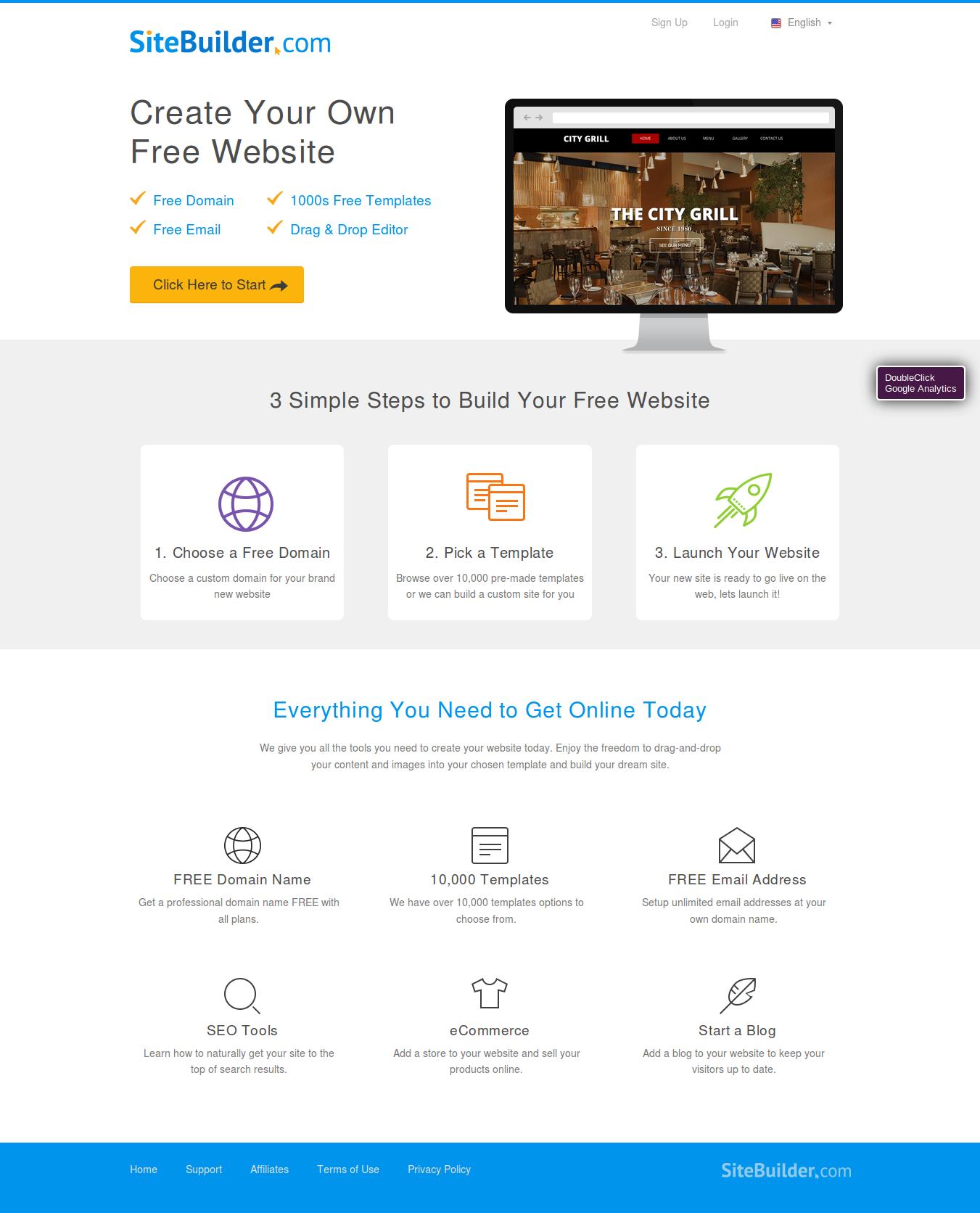 Lujo plantillas de sitio web generador gratis patr n for Www builder